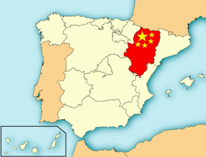 Importación de China a Aragón