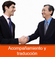 acompañamiento y traducción