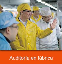 auditoria en fabrica