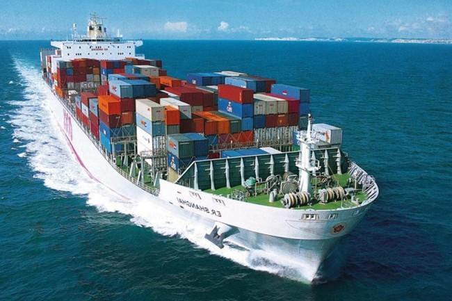 peso transporte maritimo