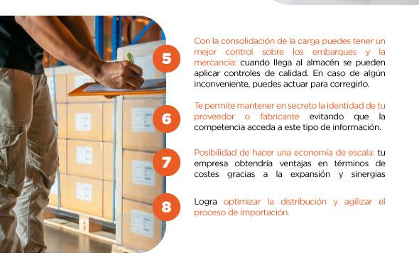 Consolidación de mercadería - Mingta Group