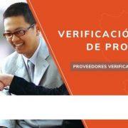 verificación telemática de proveedores